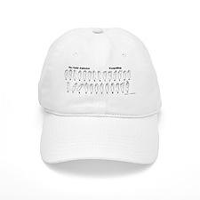 DONE-toespelling-8.31x3_bev Baseball Cap