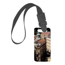 Old Town; buildings of Old Towno Luggage Tag