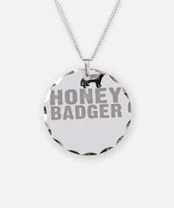 Honey Badger Thing -dk Necklace