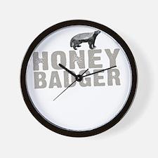 Honey Badger Thing -dk Wall Clock