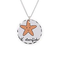 starfish_7x7_apparel Necklace