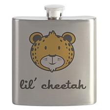 cheetah_7x7_apparel Flask