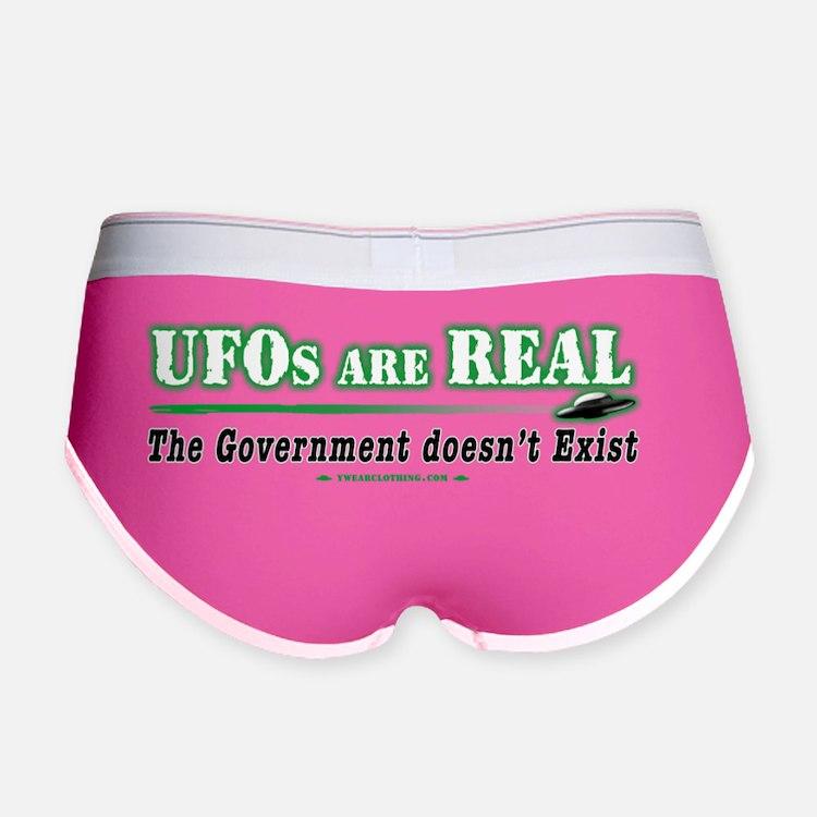 Ufos are real 4 yw Women's Boy Brief