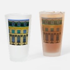 Historical building in Am Hof squar Drinking Glass