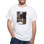 Mountain Lion White T-Shirt