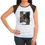 Mountain Lion Women's Cap Sleeve T-Shirt