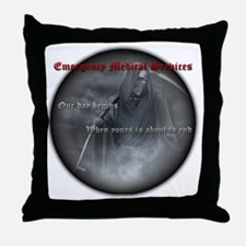 reaper2 Throw Pillow