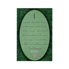 nook_darcy_quote Rectangle Magnet
