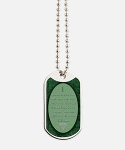 nook_darcy_quote Dog Tags