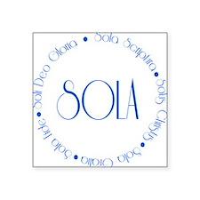 """sola5 Square Sticker 3"""" x 3"""""""