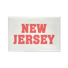 Girl out of new jersey light Rectangle Magnet