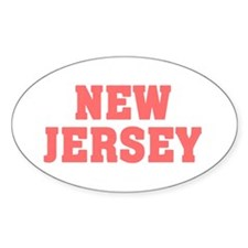 Girl out of new jersey light Decal