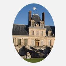 Fontainebleau Chateau, Seine et Marn Oval Ornament