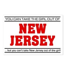 Girl out of new jersey Postcards (Package of 8)