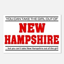 Girl out of new hampshire Postcards (Package of 8)