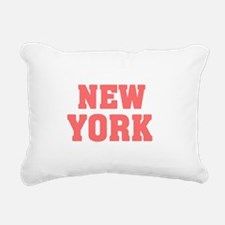 Girl out of new york lig Rectangular Canvas Pillow