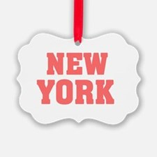 Girl out of new york light Ornament