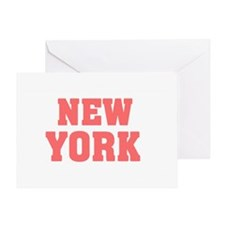 Girl out of new york light Greeting Card