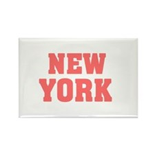 Girl out of new york light Rectangle Magnet