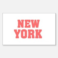 Girl out of new york light Decal