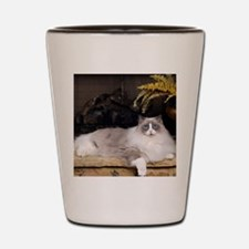 H Sammy fireplace Shot Glass