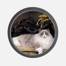 H Sammy fireplace Wall Clock