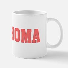 Girl out of oklahoma light Mug