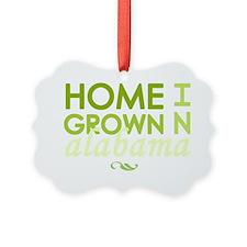 Home grown alabama light Ornament