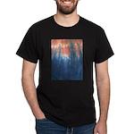 Blue/Orange Tie-Dye Dark T-Shirt