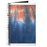 Blue/Orange Tie-Dye Journal