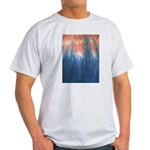 Blue/Orange Tie-Dye Light T-Shirt