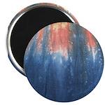 Blue/Orange Tie-Dye Magnet