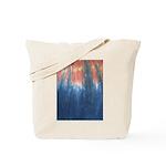 Blue/Orange Tie-Dye Tote Bag