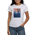 Blue/Orange Tie-Dye Women's T-Shirt