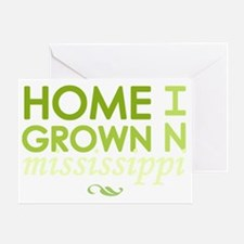 Home grown mississippi light Greeting Card