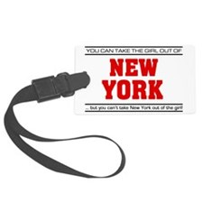 Girl out of new york Luggage Tag