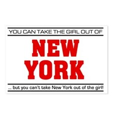 Girl out of new york Postcards (Package of 8)