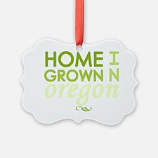 Home grown oregon light Ornament