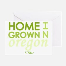 Home grown oregon light Greeting Card