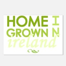 Home grown ireland light Postcards (Package of 8)