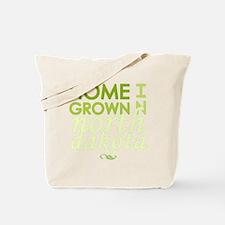 Home grown n dakota light Tote Bag