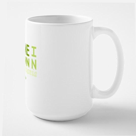 Home grown pennsylvania light Large Mug