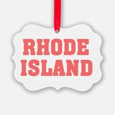 Girl out of rhode island light Ornament