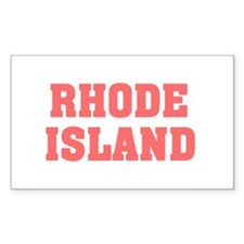 Girl out of rhode island light Decal