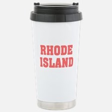 Girl out of rhode island light Travel Mug