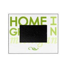 Home grown michigan light Picture Frame