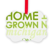 Home grown michigan light Ornament