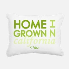 Home grown california li Rectangular Canvas Pillow