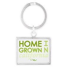Home grown california light Landscape Keychain