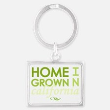 Home grown california light Landscape Keychain